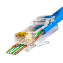 سوکت شبکه‌ی CAT6 UTP Open End