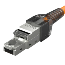 پلاگ شبکه ی CAT6 A SFTP ToolFree